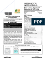 Heat Pump xpg15 Manual