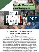 7 Otro Tipo de Manchas e Indicios Biologicos (1)
