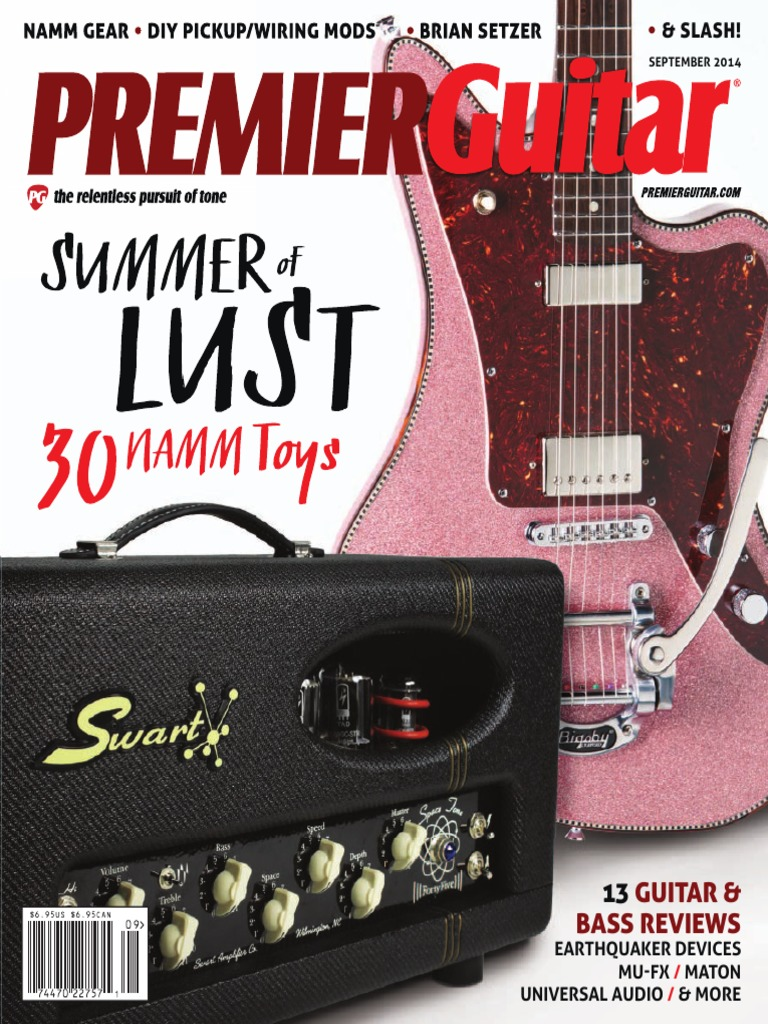 Premier Guitar September 2014 Usa Guitars Bass Circuit Bending Making Music By Rewiring Devices And Toys