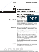 Pasta Fosqueante Para Vidros - Jateamento - Mattglass