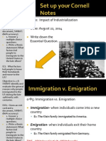 WEBNOTES - Day 1 - 2014 - IntroTOImmigration - Push and Pull Factors