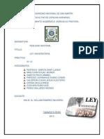 Ley Universitaria 2014