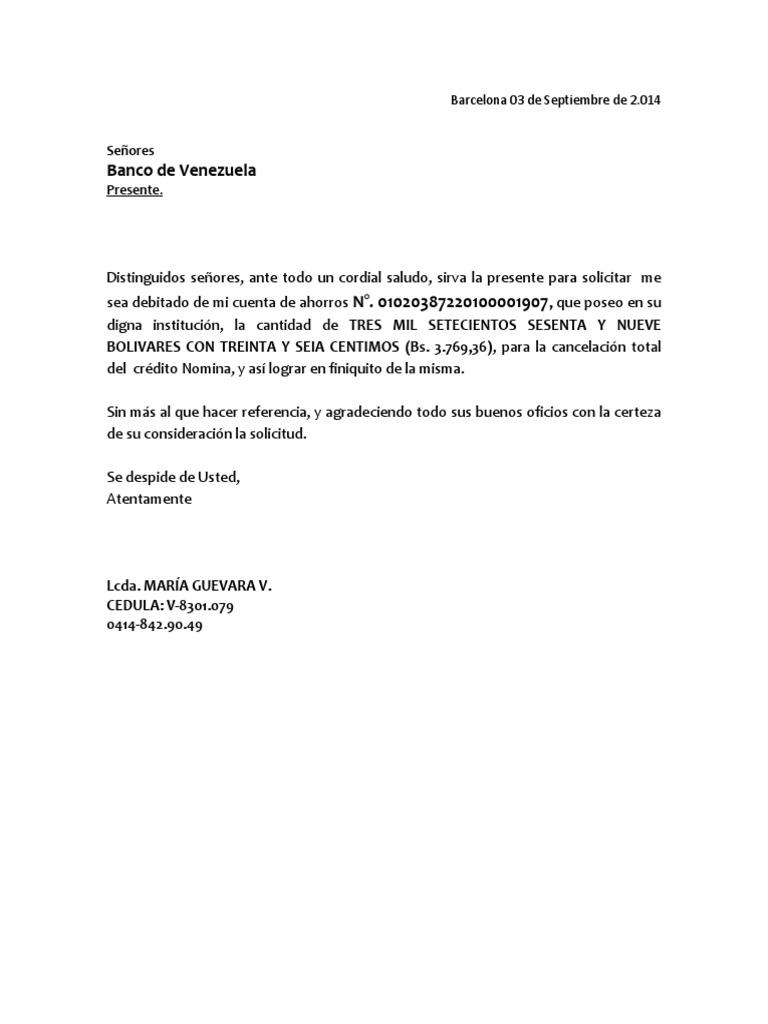 Contrato para solicitud de tarjeta de credito banco de for Solicitud de chequera banco venezuela