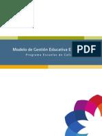 Mgee Modelo de Gestion Educativa Estrategica