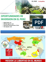Oportunidades de Inversion en El Perú