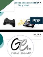 Sony Tablet Con Mando PS3