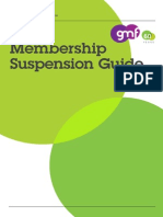 GMF - Membership Suspension Guide