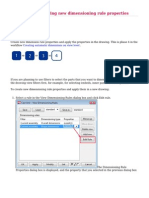 4.Tekla User Assistance - Creating and Applying New Dimensioning Rule Properties - 2014-08-26