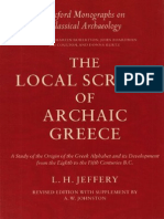 Jeffery, H. L. -The Local Scripts of Archaic Greece