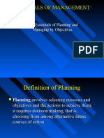 Planning in management function