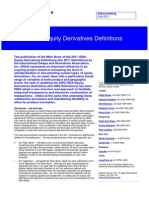 2011 Isda Equity Derivatives Definitions July 2011 6011343
