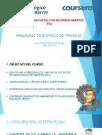 Portafolio de Trabajo. Pràctica No 2
