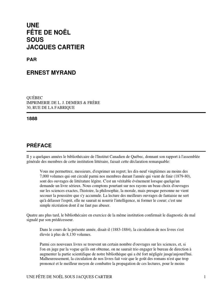 Jacques By Noël Sous Une Cartier Fête De MyrandErnest odCeWxrB