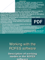 rofes analysis software