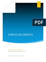 CARTAS DE CREDITO