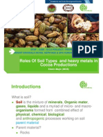 15. Roles of Soil Types and Heavy Metals in Cocoa Productions