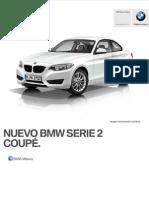 Ficha Tecnica BMW 220iA Coupe Automatico 2015