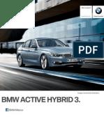 Ficha Tecnica BMW ActiveHybrid 3 (335iA) Luxury Line Automatico 2015