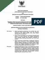 PBM MENKES Dan Menteri Dalam Negeri No. 138 Dan No. 12 Tg Pedoman Tarif Plyanan Kesehatan Peserta Th2009.o