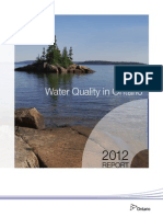 Water Quality in Ontario 2012