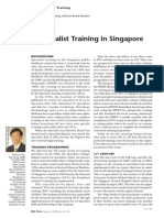 Specialist Training in Singapore