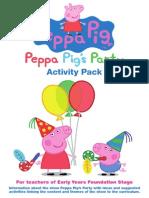 Peppapig Activity Pack
