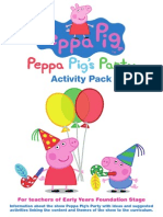 Peppapig Activity Pack