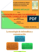 Tema 3 La Educacion en Linea
