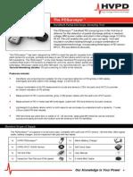 HVPD PDSurveyor 2-Page Marketing Card 2011