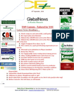 10th September,2014 Daily Global Rice E-Newsletter by Riceplus Magazine