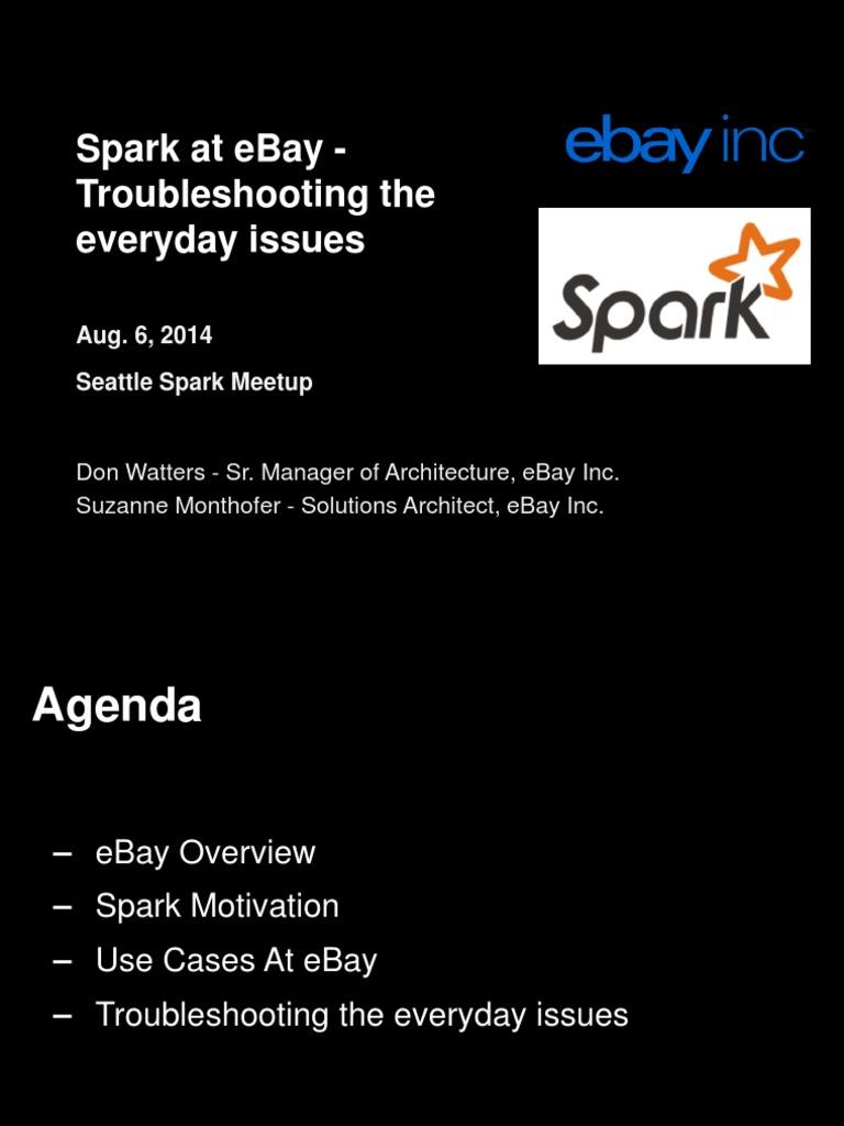 Spark Meet Up August 2014 Public | Apache Hadoop | Apache Spark