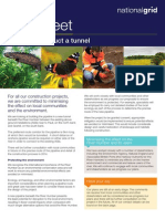 National Grid Humber Pipeline Tunnel Factsheet