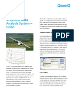 Graphical Data Analysis System GDAS