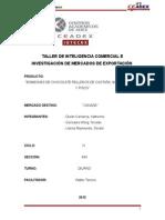 Inteligencia Comercial e Investigación de Mercados - Bombones (IV Ciclo)