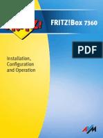 Manual FRITZBox 7360