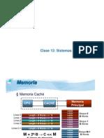 Clase-12 Sistemas de Memoria