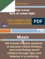 Back to School Night Presentation 2014-15 v2