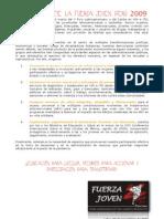 Declaracion Fuerza Joven Peru