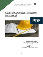 Caiet de Practica an I inginerie civila