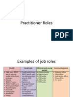 practitioner roles