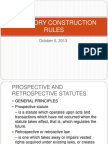 Statutory Construction Rules
