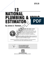Plumbing Specification