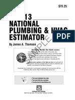 Plumbing Specification