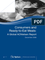 Consumer and Ready-to-Eat Meals