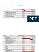 Construction Gantt Chart