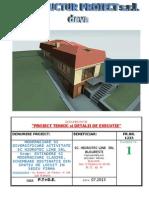 Memoriu Arhitectura + Rezistenta