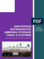 Anhydrous Refrigerated Ammonia Storage Tanks & Systems
