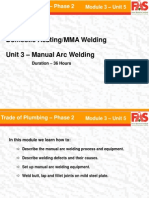 Manual Arc Welding M3 U5