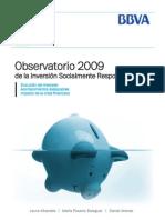 Observatorio 2009 de la inversión socialmente Responsable