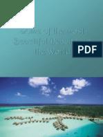 Algunas de Las Playas Más Hermosas Del Mundo..